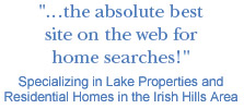 Specializing in Lake Properties and Residential Homes in the Irish Hills Area